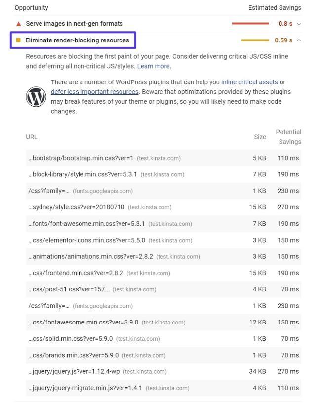 hiện thị của JavaScript khi bị loại bỏ