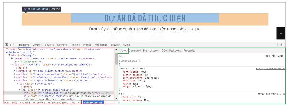 Thay đổi font chữ trong CSS 2