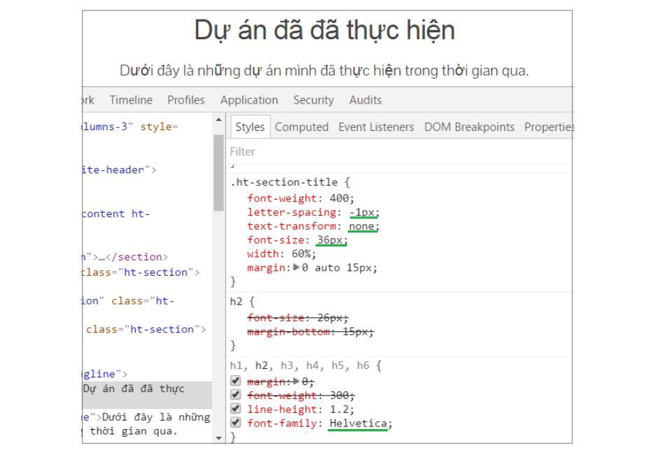 Thay đổi font chữ trong CSS 4