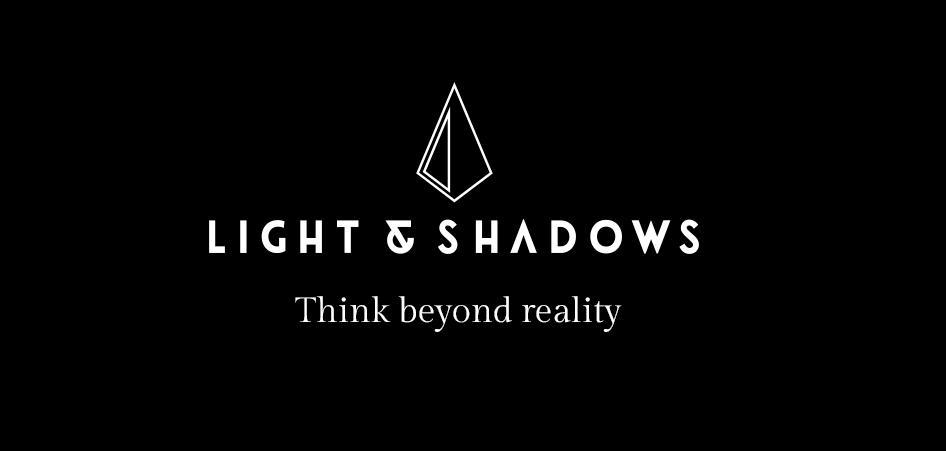 mẫu web menu Light & Shadows