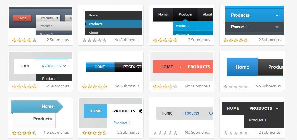 Vai trò của menu web doanh nghiệp